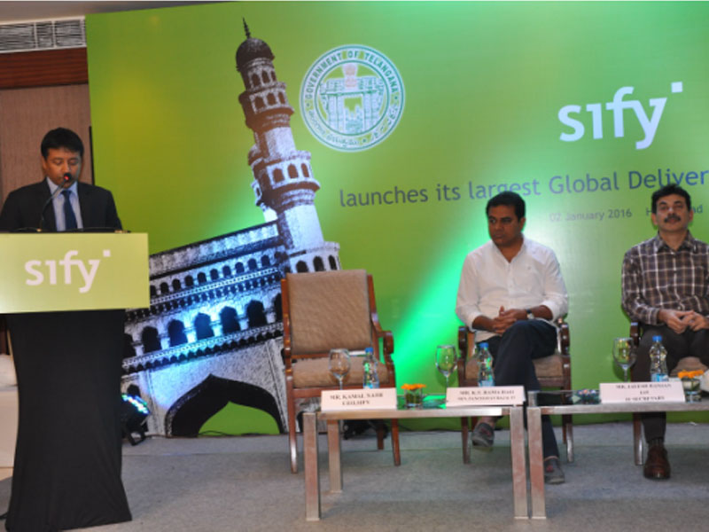 Launch of Sifys Global Delivery Centre
