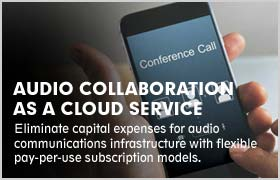 Audio Collaboration as a Cloud Service