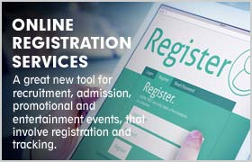 ONLINE REGISTRATION SERVICES