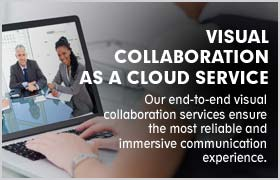 Visual Collaboration as a Cloud Service