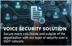 VOICE SECURITY SOLUTION