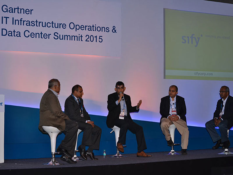 Gartners Infrastructure,  Operations & Data Center Summit 2015