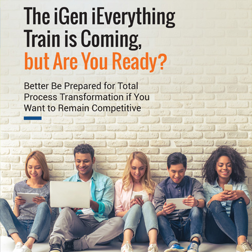 The iGen Everything Train is Coming