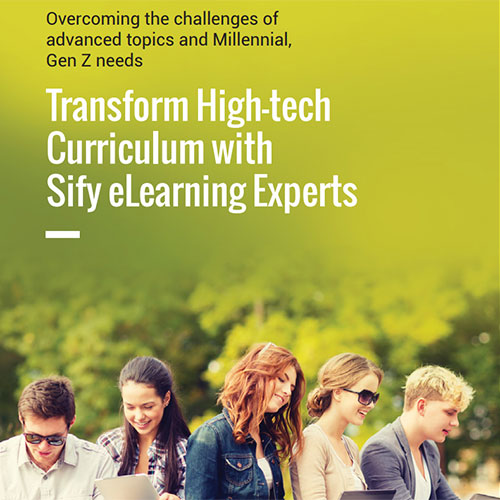 Transform High tech Curriculum with Sify eLearning Experts