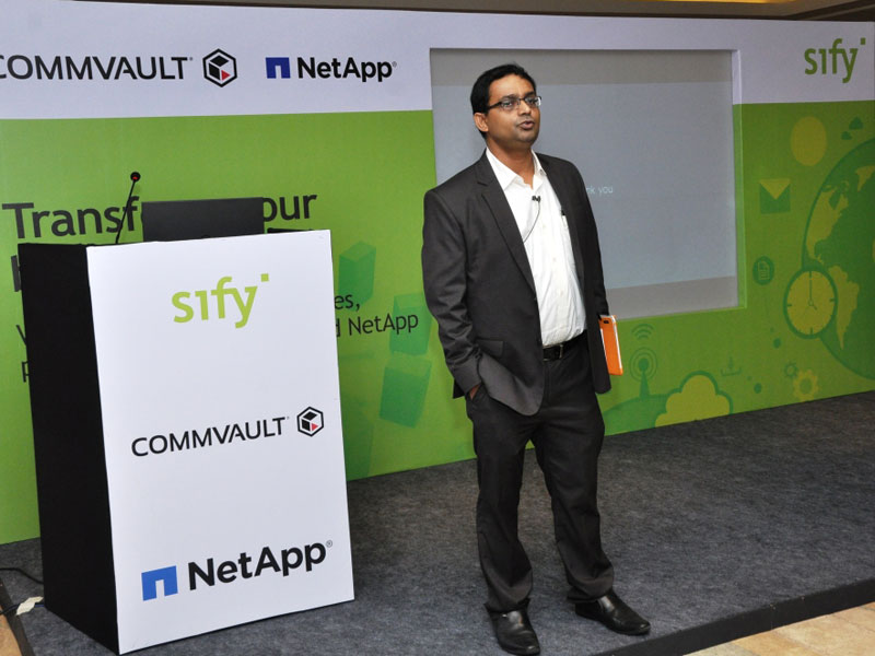 Modern Data Centers – Powered by Sify-Netapp-Commvault