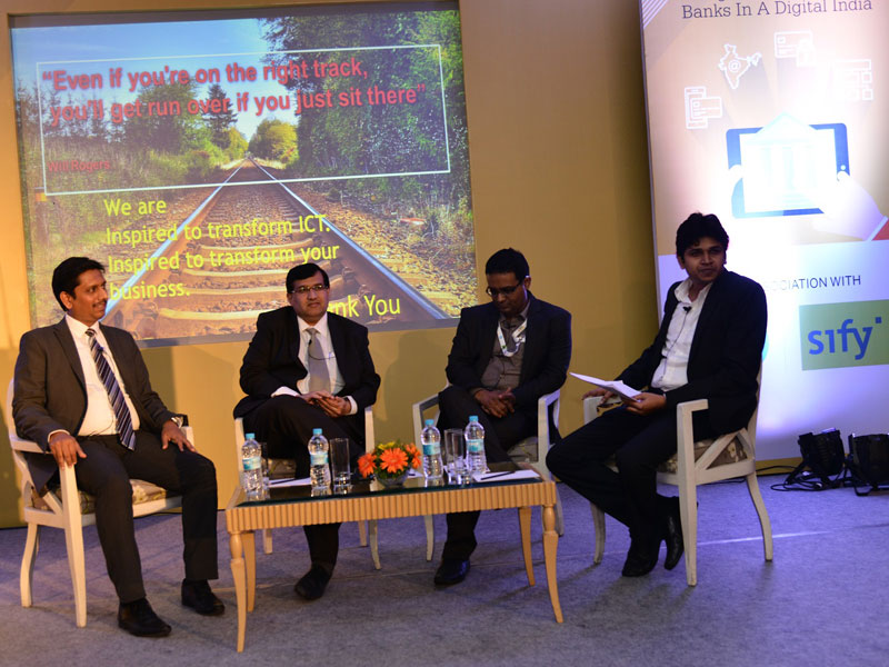 Summit on Cooperatives Bank at Pune – Powered by Sify & HP