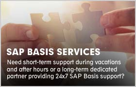 SAP Basis Administration & Consultant Services | Sify